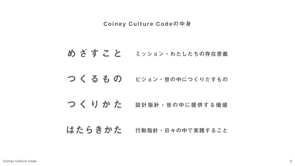 Coiney Culture Code 3 Coiney Culture Codeͷத Ί ...
