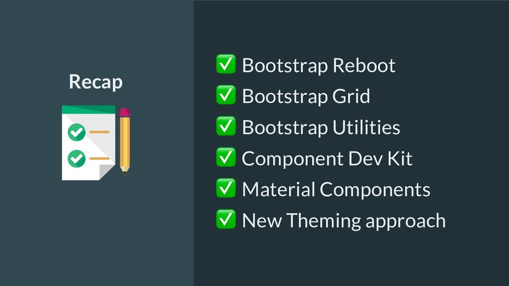 ✅ Bootstrap Reboot ✅ Bootstrap Grid ✅ Bootstrap...