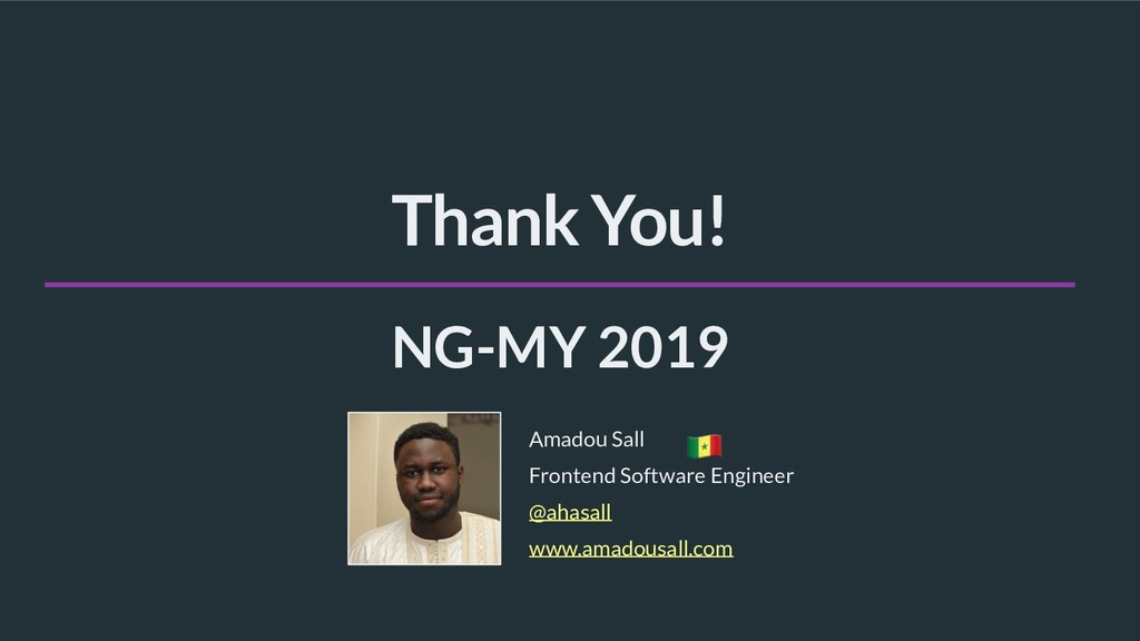 @ahasall Frontend Software Engineer Amadou Sall...