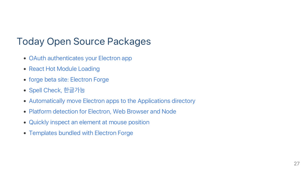 Today Open Source Packages OAuth authenticates ...