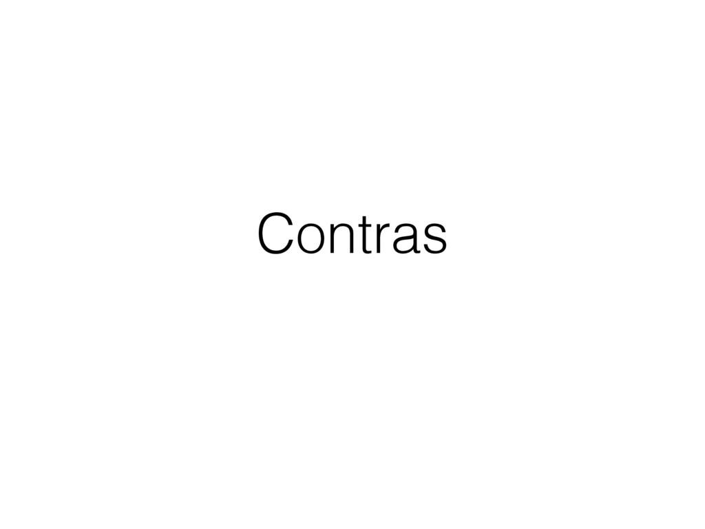 Contras