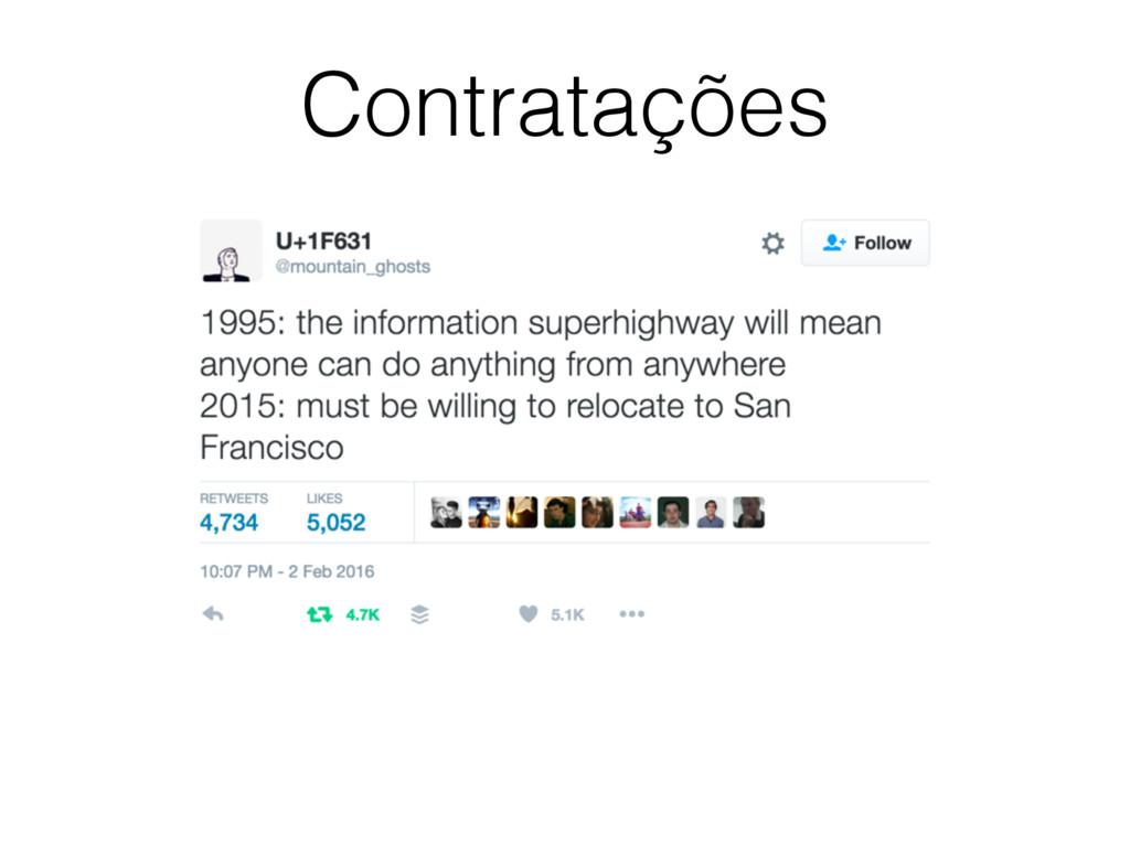 Contratações