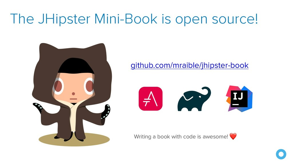 The JHipster Mini-Book is open source! github.c...