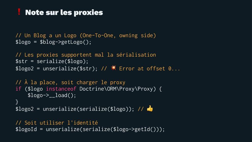 ❗ Note sur les proxies // Un Blog a un Logo (On...