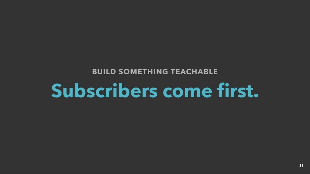 BUILD SOMETHING TEACHABLE BUILD SOMETHING TEACH...