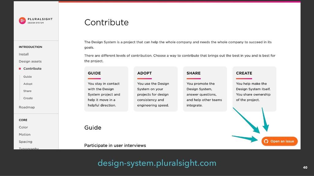 design-system.pluralsight.com 40