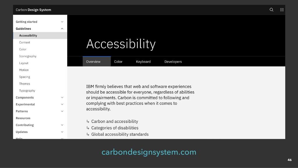carbondesignsystem.com 46