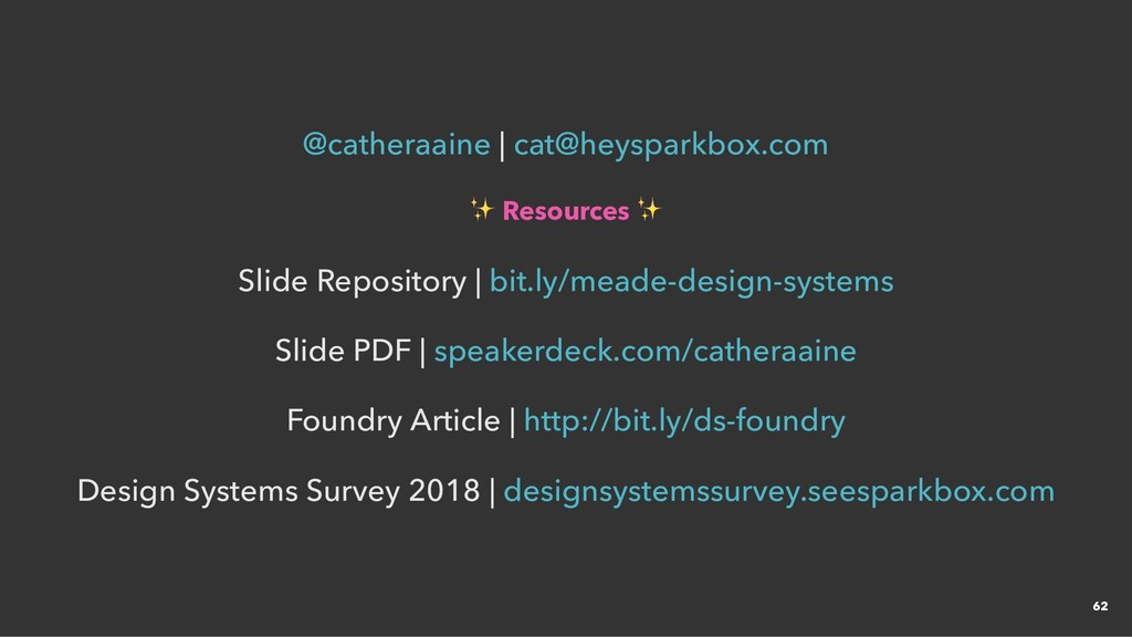   ✨ Resources ✨ ✨ Resources ✨ Slide Repository ...