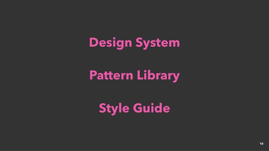 Design System Design System Pattern Library Pat...