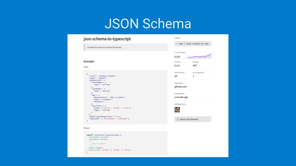 JSON Schema