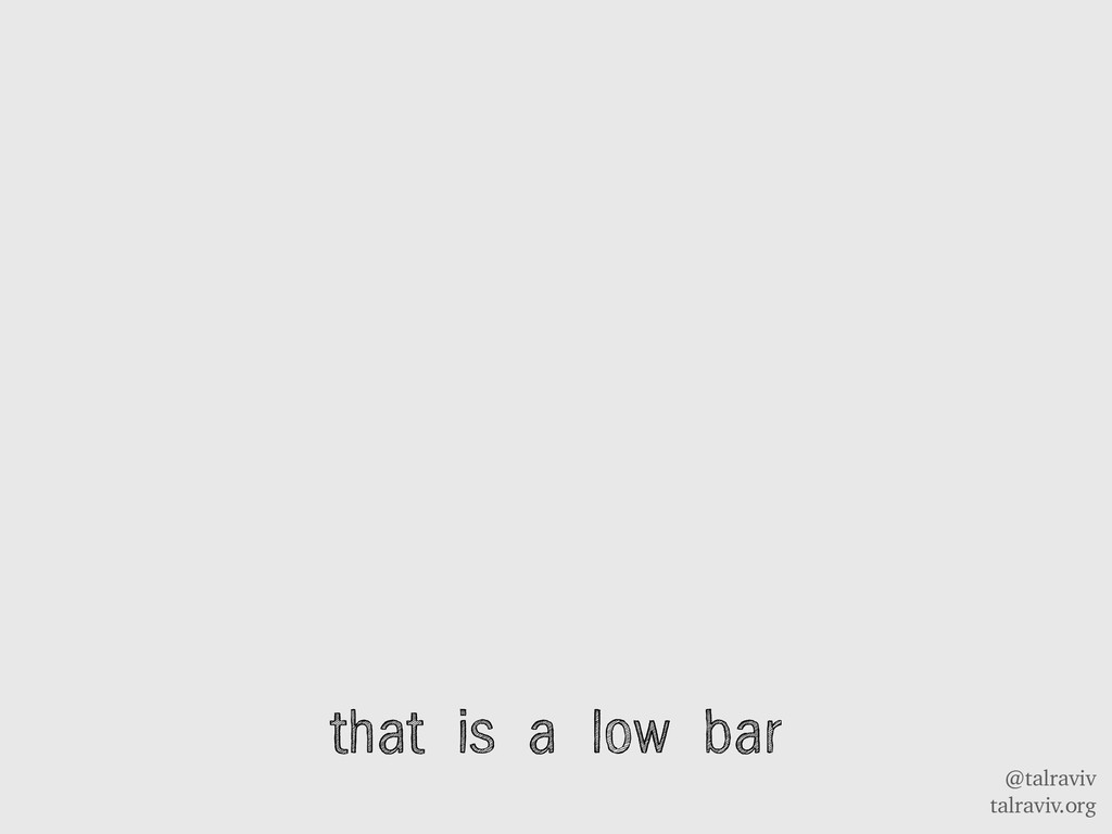 @talraviv talraviv.org that is a low bar