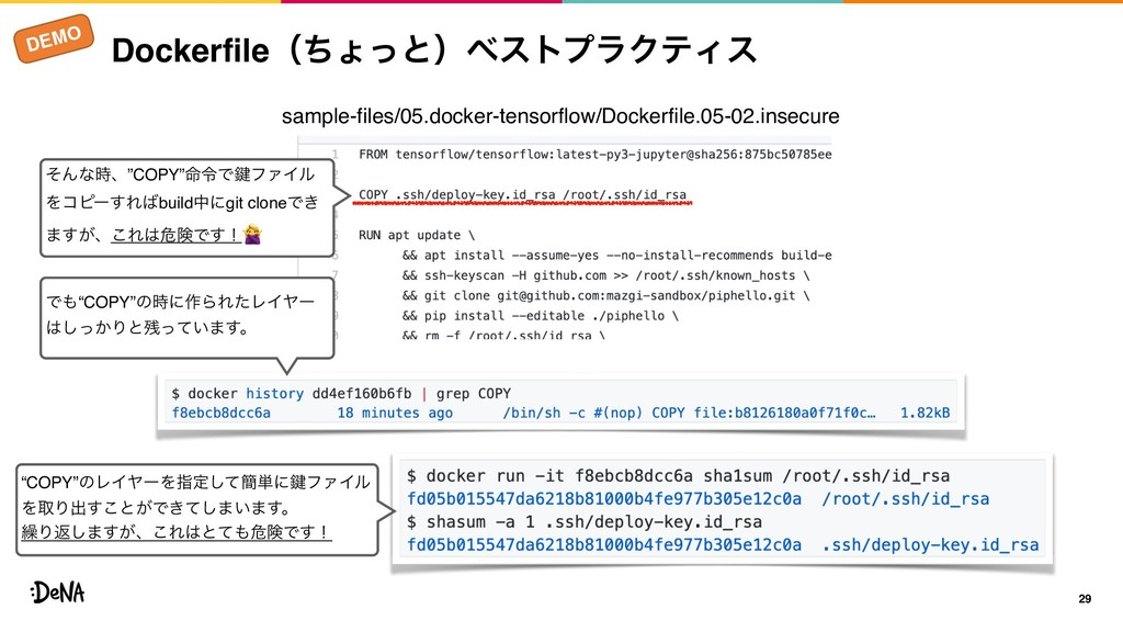 DEMO DockerfileʢͪΐͬͱʣϕετϓϥΫςΟε 29 sample-files/...
