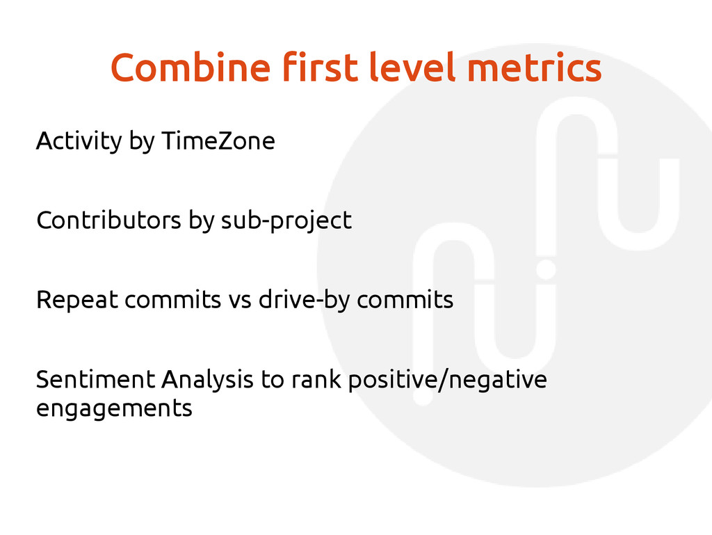 Combine first level metrics Activity by TimeZon...