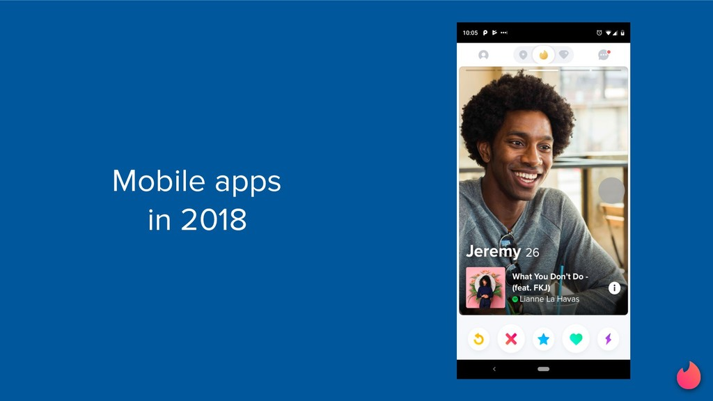 Mobile apps in 2018