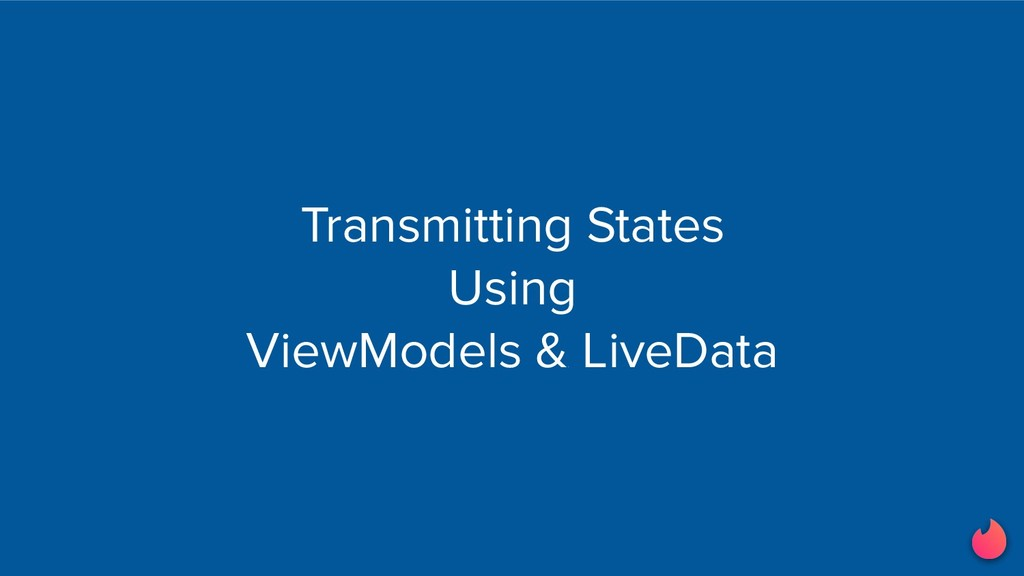 Transmitting States Using