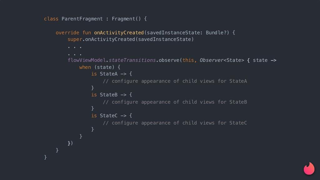class ParentFragment : Fragment() {x override f...