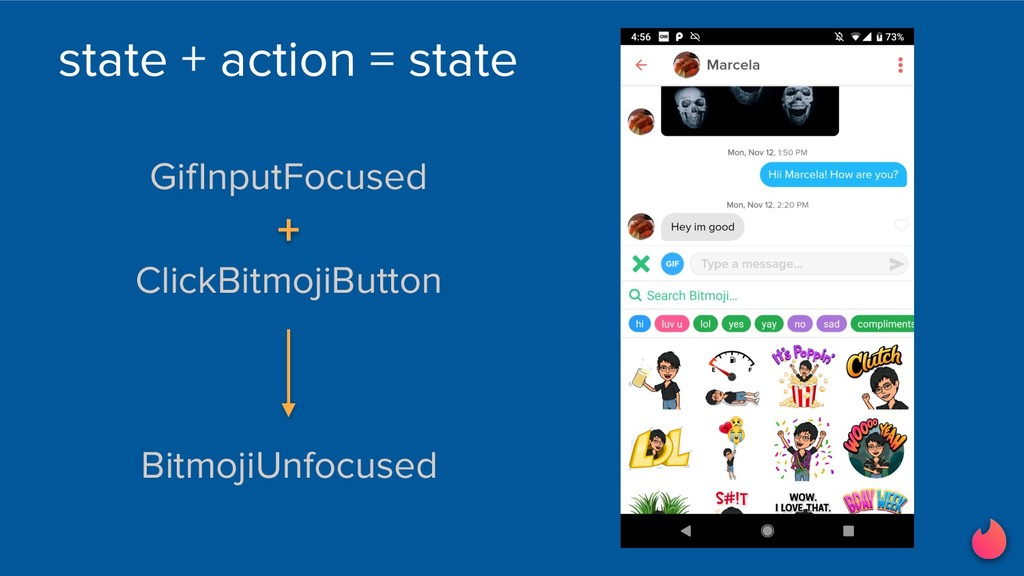 state + action = state BitmojiUnfocused GifInpu...