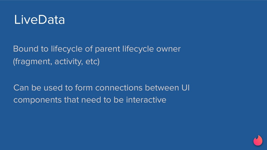 LiveData Bound to lifecycle of parent lifecycle...