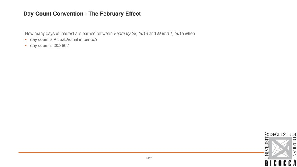 Day Count Convention - The February Effect How ...