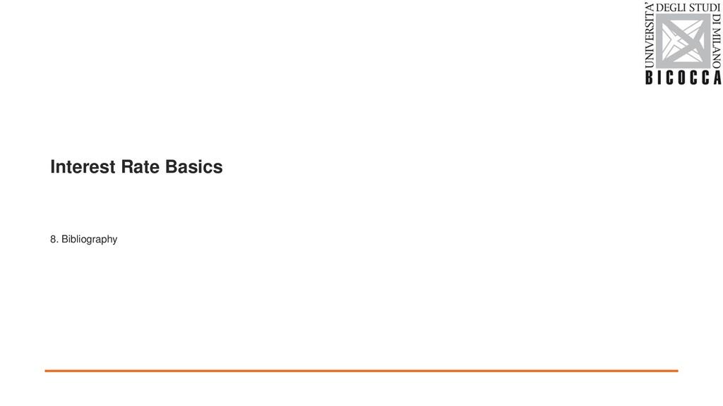 Interest Rate Basics 8. Bibliography