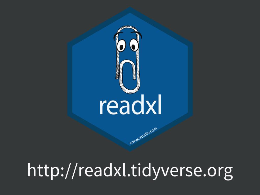 http://readxl.tidyverse.org readxl www.rstudio....