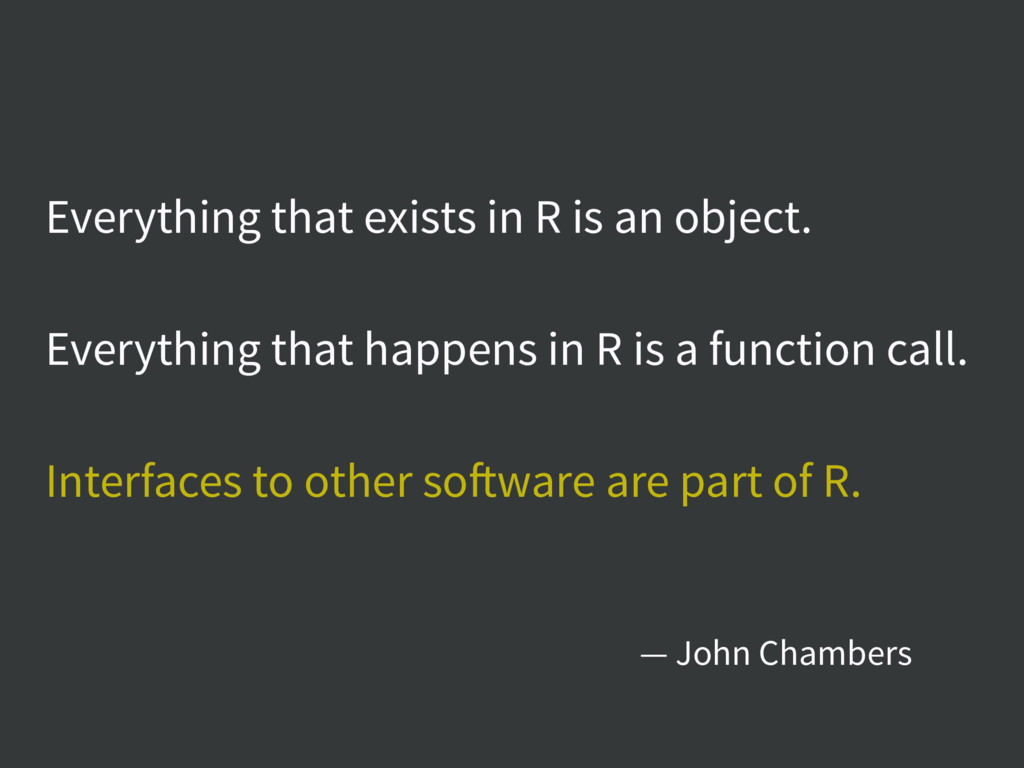 Everything that exists in R is an object. Every...