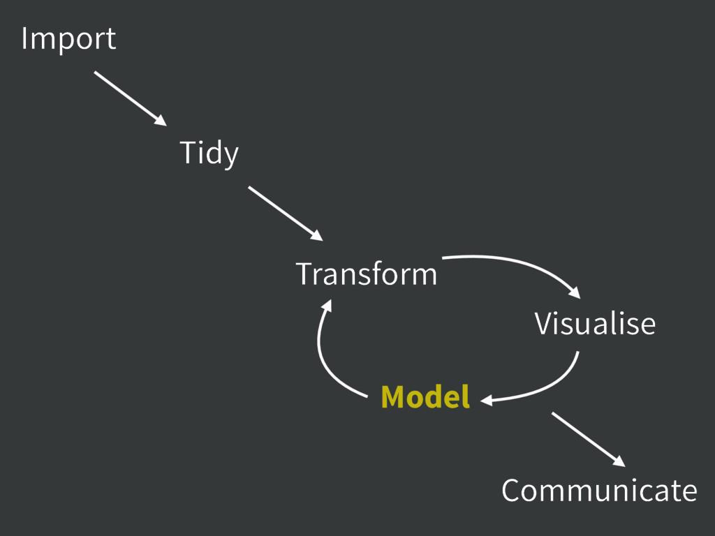 Import Tidy Communicate Transform Visualise Mod...