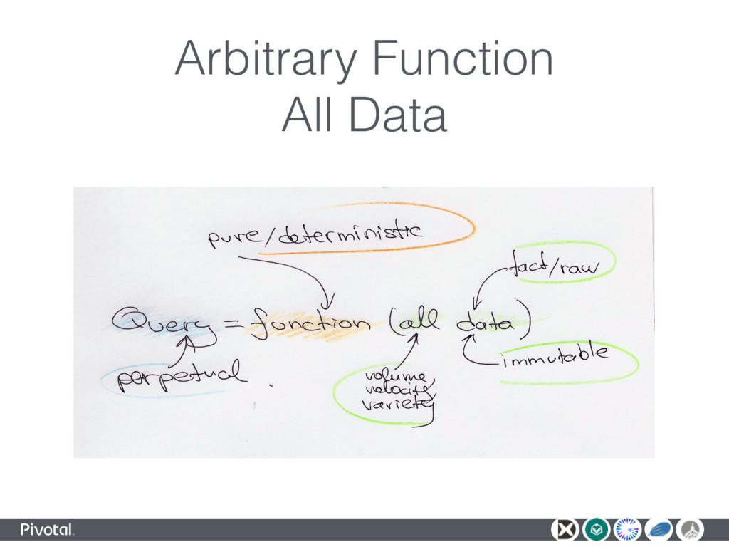 Arbitrary Function All Data