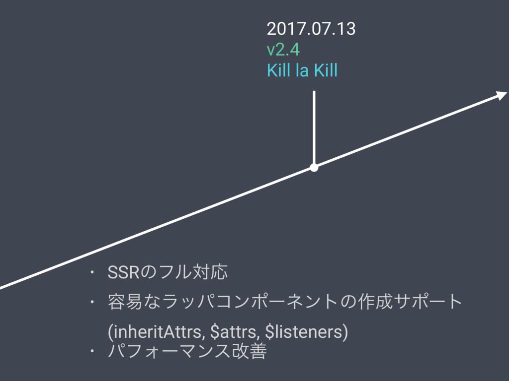 2017.07.13 v2.4 Kill la Kill • SSRͷϑϧରԠ • ༰қͳϥο...