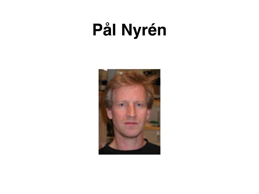 Pål Nyrén
