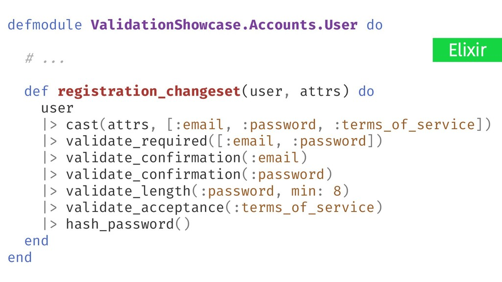 Elixir defmodule ValidationShowcase.Accounts.Us...