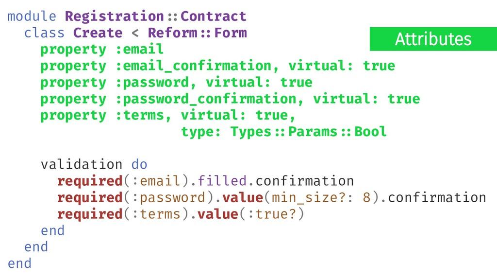 Attributes module Registration#:Contract class ...