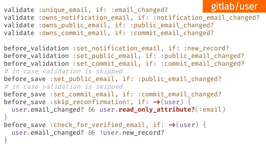 validate :unique_email, if: :email_changed? val...