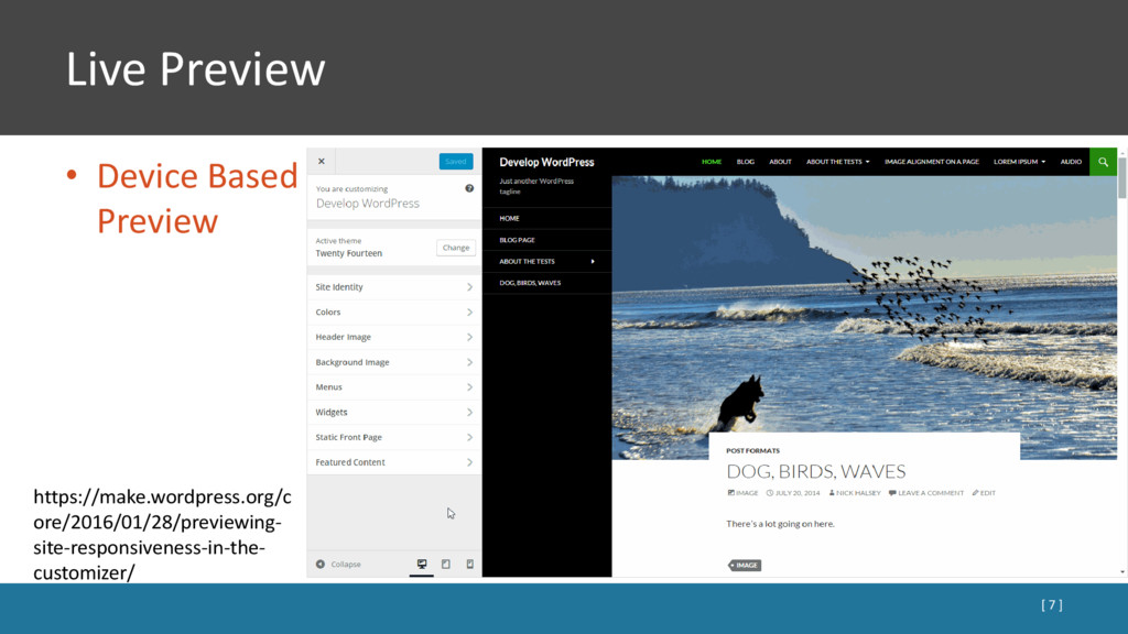 Live Preview • Device Based Preview [ 7 ] https...