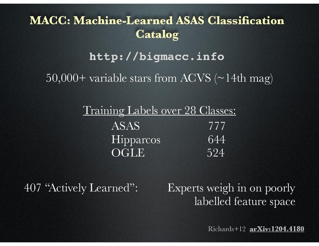 MACC: Machine-Learned ASAS Classification Catalo...