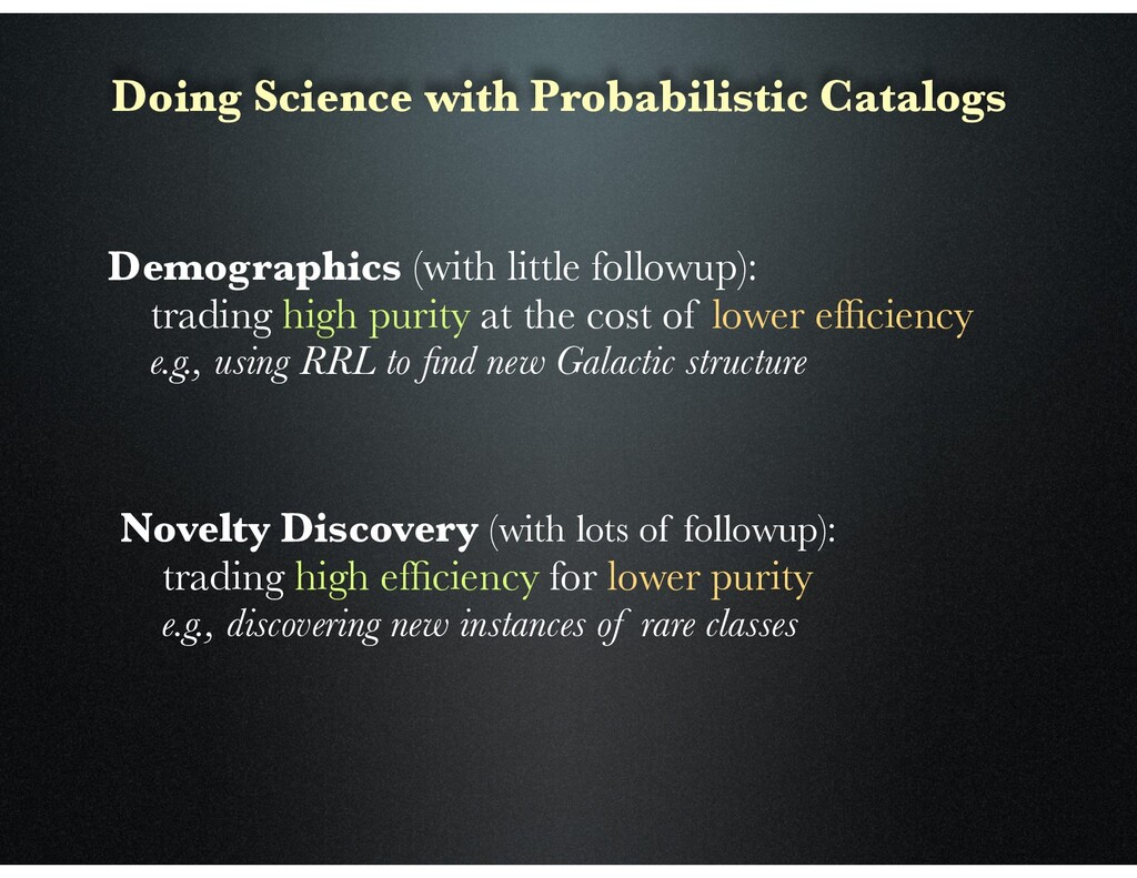 Doing Science with Probabilistic Catalogs Demog...