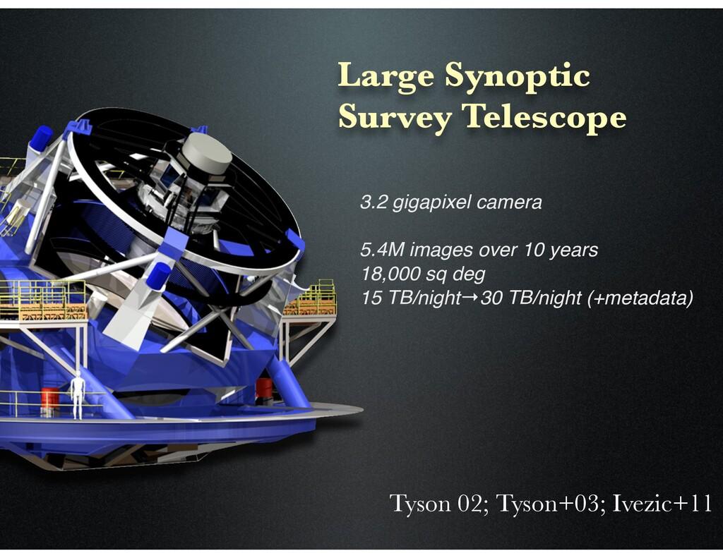Large Synoptic Survey Telescope 3.2 gigapixel c...