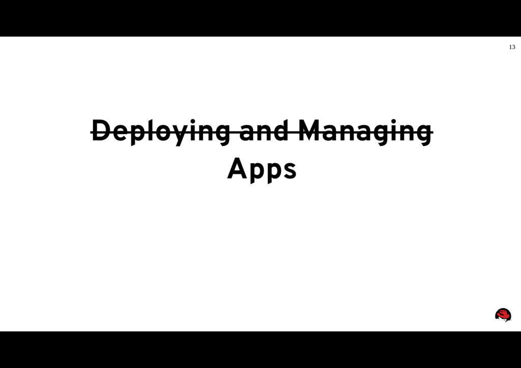 13 Deploying and Managing Apps