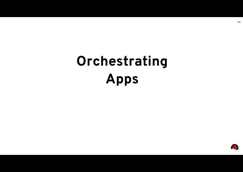 14 Orchestrating Apps
