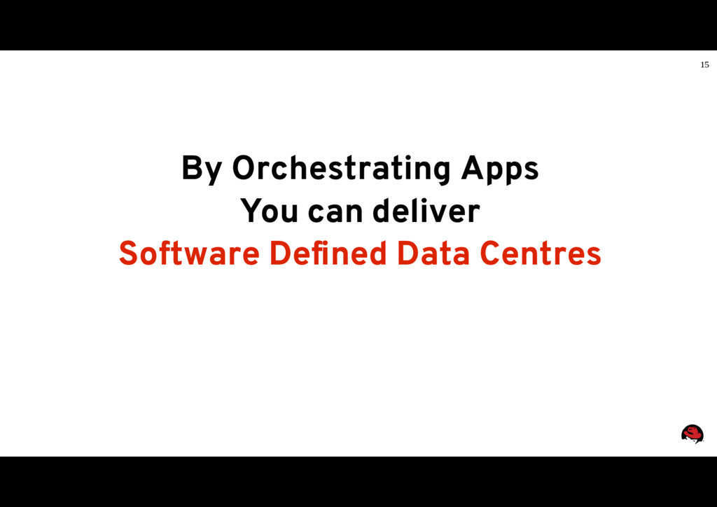 15 By Orchestrating Apps You can deliver Softwa...