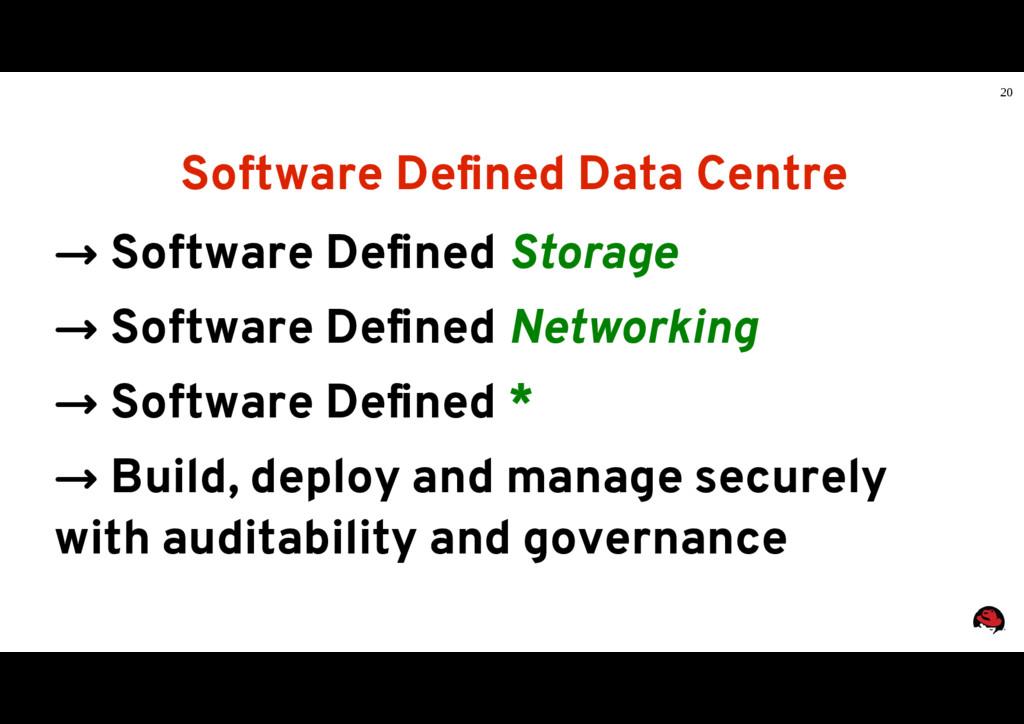 20 Software Defined Data Centre → Software Defi...