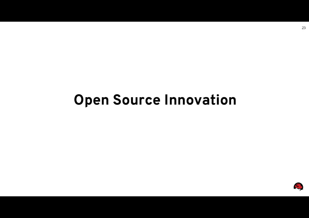 23 Open Source Innovation