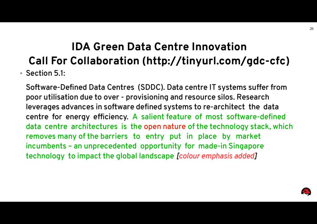 26 IDA Green Data Centre Innovation Call For Co...