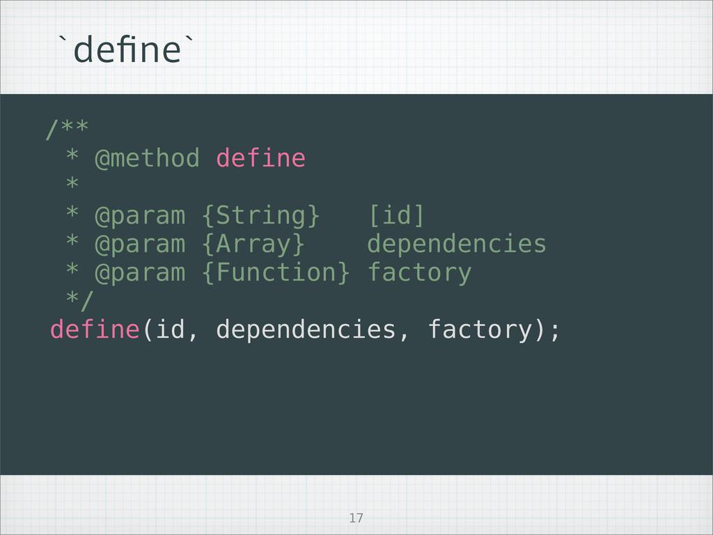 AEFpOFA /** * @method define * * @param {String...