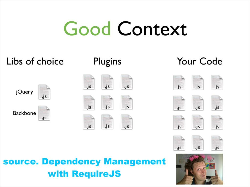 7 Good Context Plugins Libs of choice jQuery Ba...