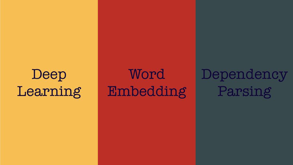 /48 21 Deep Learning Word Embedding Dependency ...
