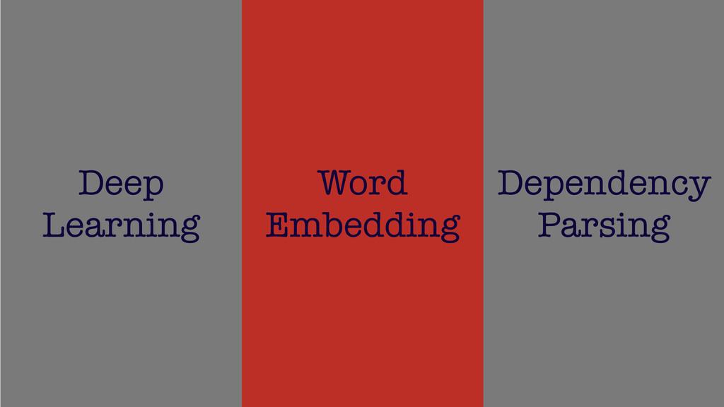 /48 22 Deep Learning Word Embedding Dependency ...