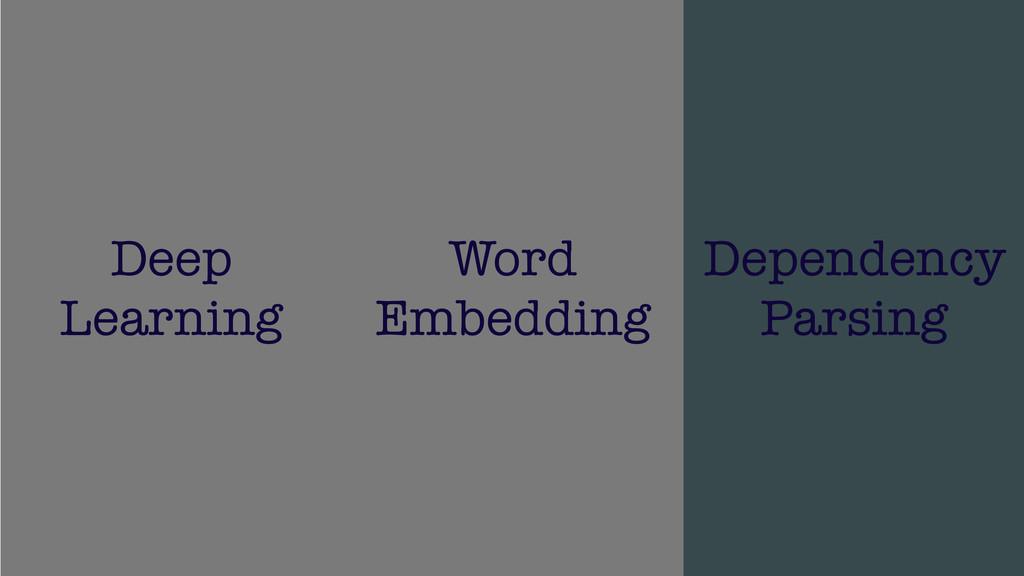 /48 32 Deep Learning Word Embedding Dependency ...