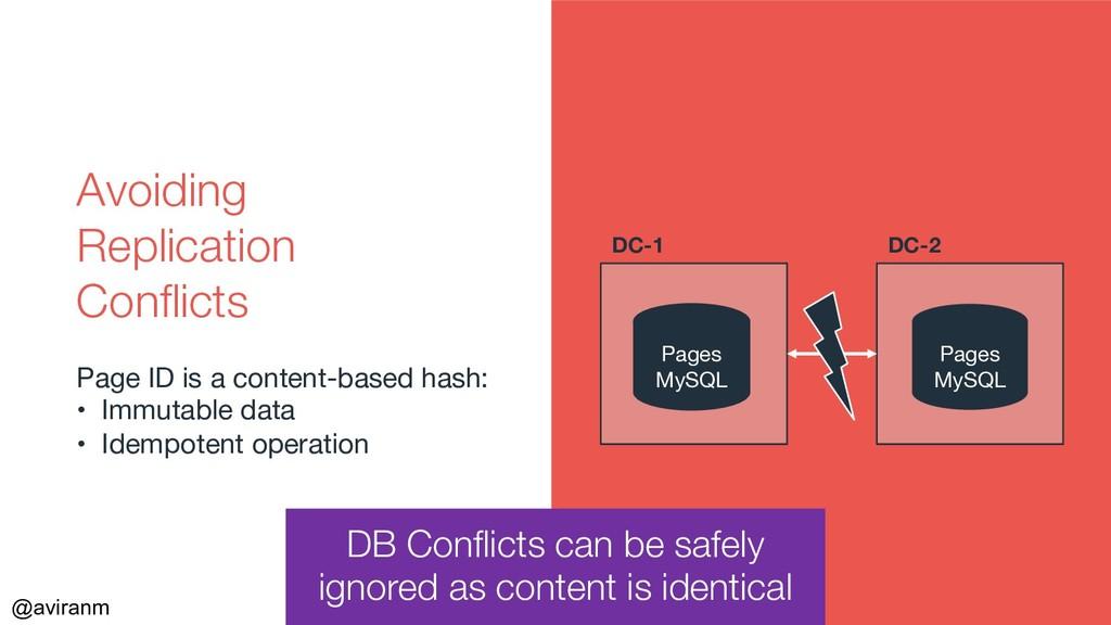 @aviranm Pages MySQL Pages MySQL DB Conflicts c...