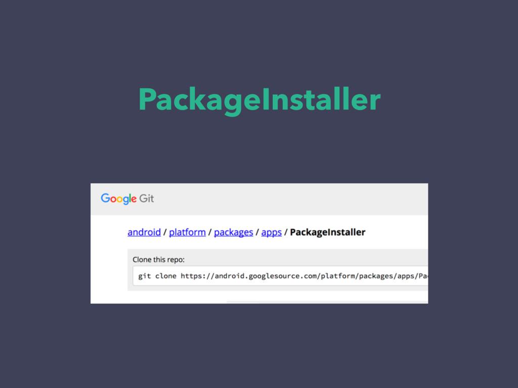 PackageInstaller
